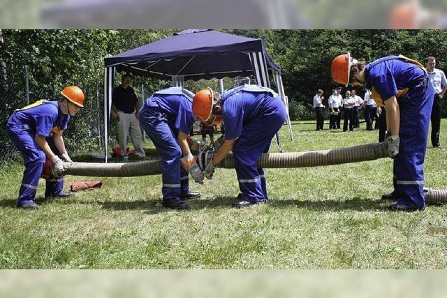 Feuerwehrnachwuchs beweist souverän sein Können