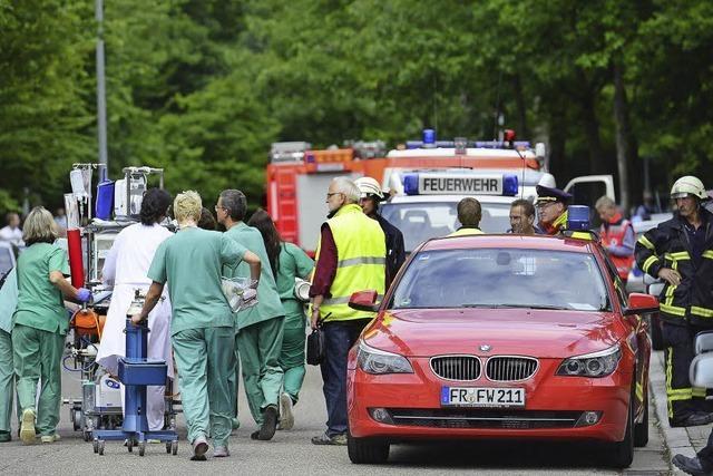Bombendrohung gegen Krankenhaus
