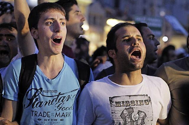 Die türkische Protestbewegung jubelt