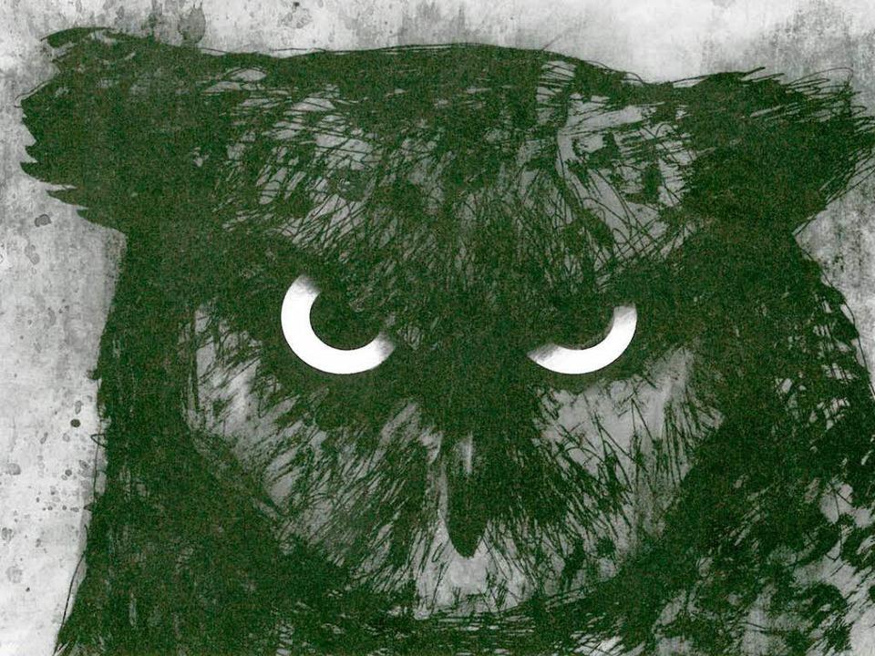 Uh, ein Uhu: Larcenets Tiere  sind Gefährten der Düsternis  | Foto: -