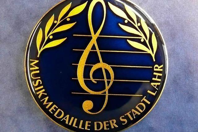Am Sonntag werden die Lahrer Musikmedaillen verliehen