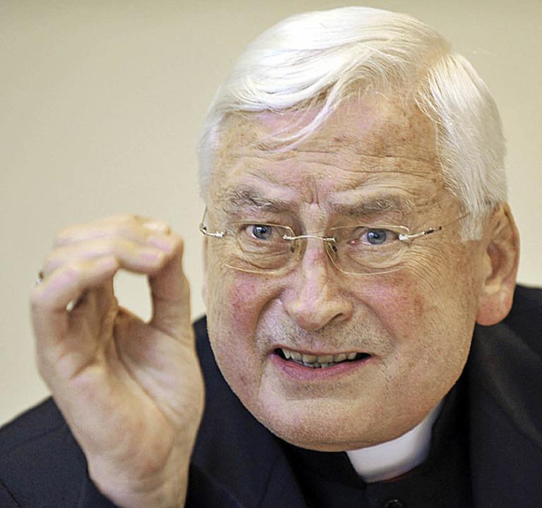 Kommt zum Sommerkurs: Bischof Walter Mixa  | Foto: dpa