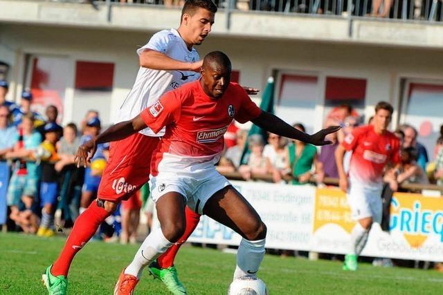 Kaiserstuhl-Cup: SC Freiburg spielt gegen FC Winterthur 1:1