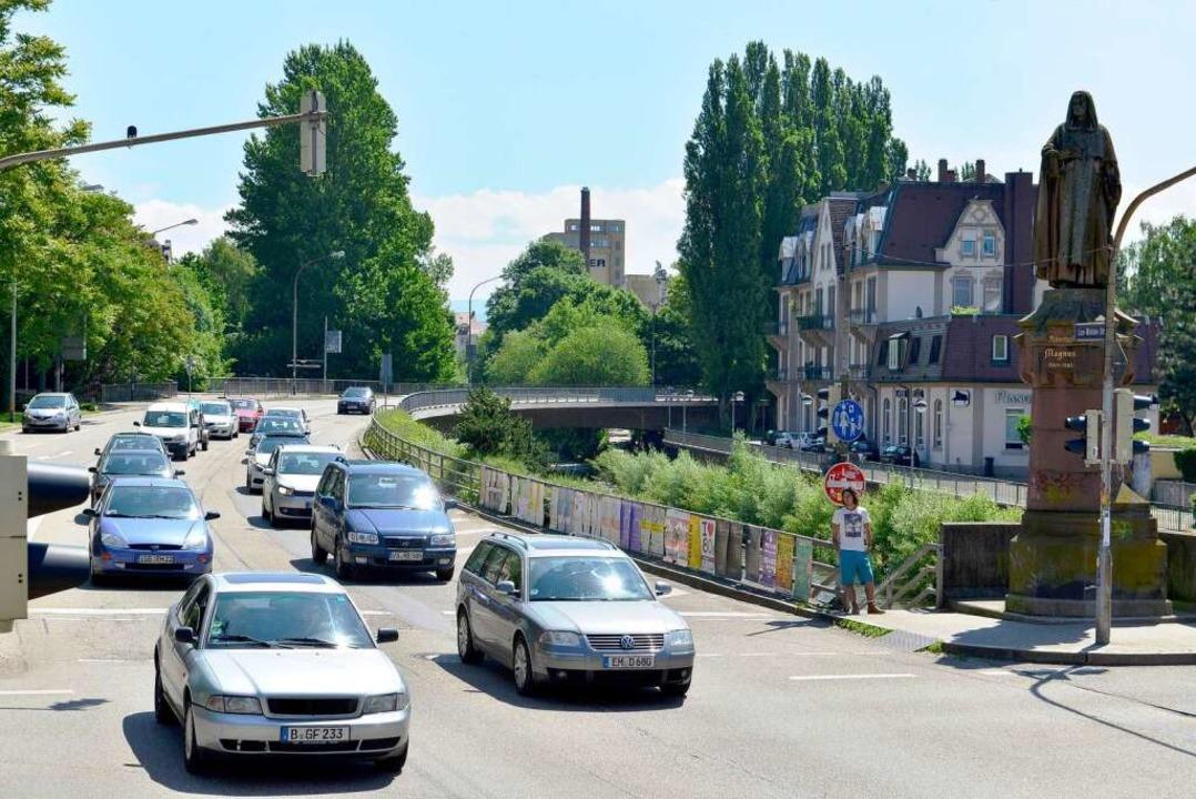 Stau Freiburg B31