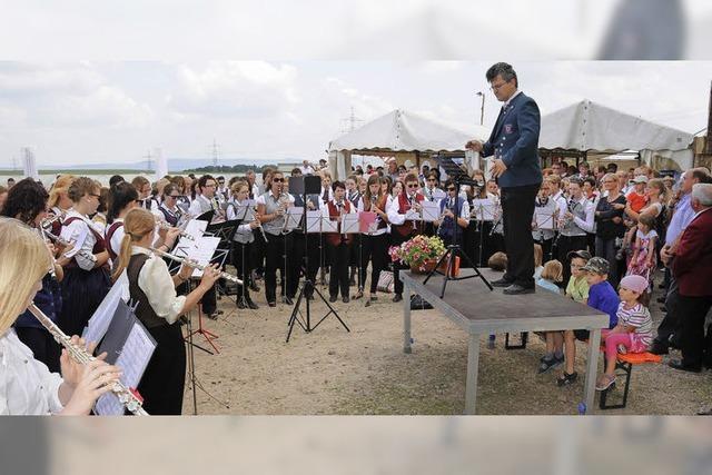 15 Musikvereine bilden Gesamtchor