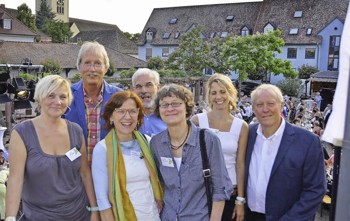 Nicht eine einzelne Person ist dieses ...eiher Hermann Dörflinger (von links).   | Foto: Julia Jacob