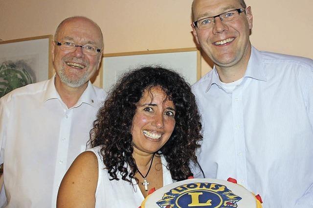 Lucia Katzenstein führt den Lions Club