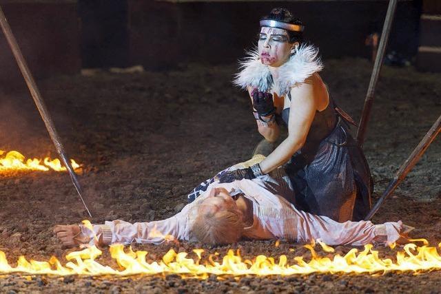 Wormser Nibelungenfestspiele: In schwerem Boden