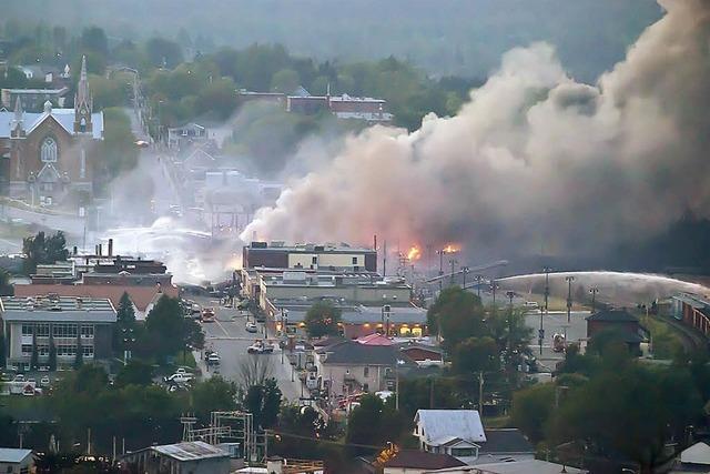 Zwei Tage nach der Tankzug-Explosion ist das Feuer gelöscht