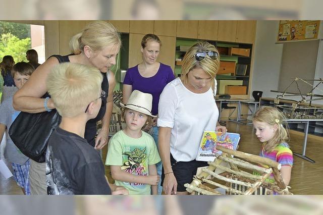 Erstes Schulfest in der neuen Sasbacher Schule