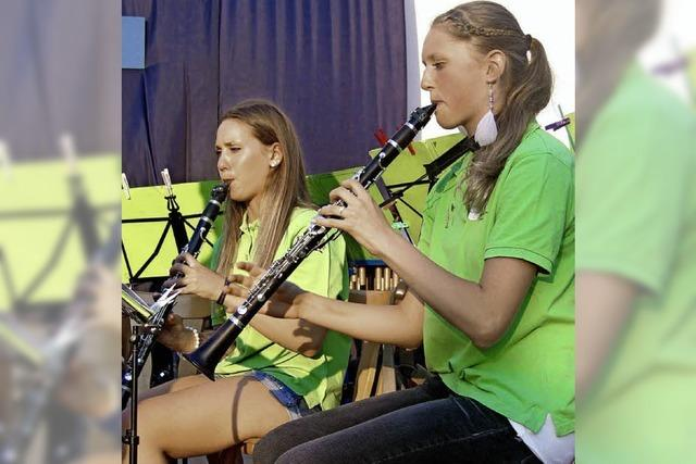 Die Jugend legt vor und der Musikverein zieht nach