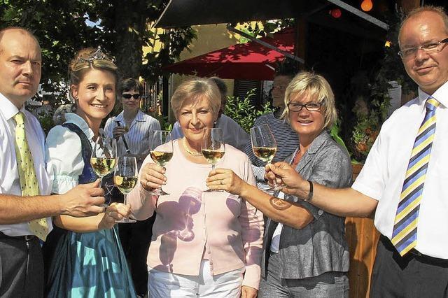 Weingenuss in netter Runde