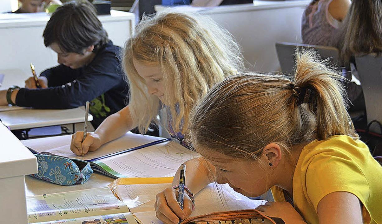In Gemeinschaftsschulen wird meist in sogenannten Lernateliers unterrichtet.   | Foto: tanja bury