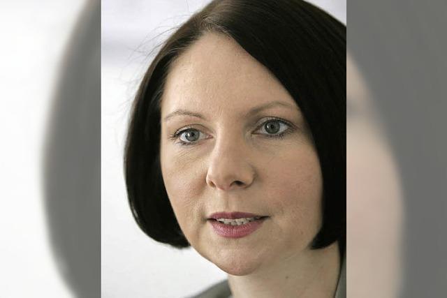 Sandra Boser sagt Verlässlichkeit zu