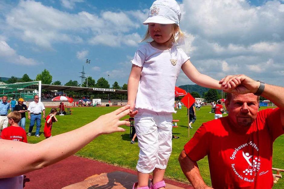 Impressionen vom Sparkassen-Spielfest in Rheinfelden (Foto: Claudia Gempp)