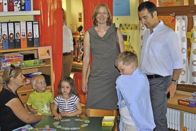 Kindergärten wandeln sich zu Familienzentren