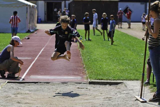 Sprinten, springen, werfen
