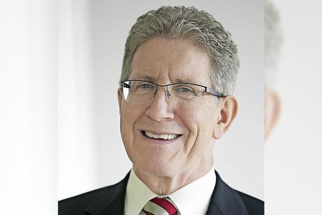 Amtsinhaber Müller ist der erste Bewerber für die OB-Wahl