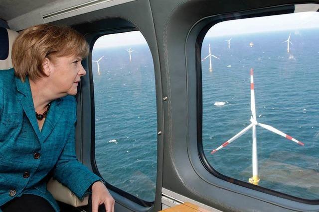 Ausbau der Windkraft auf dem Meer kommt nicht voran