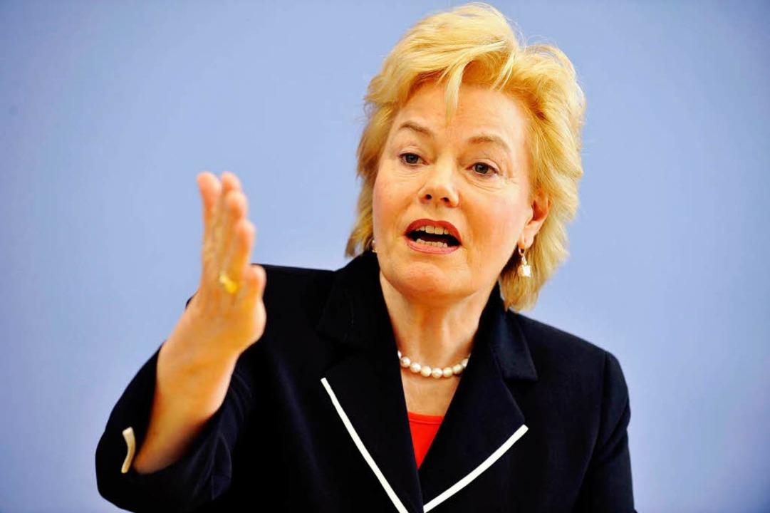Erika Steinbach (CDU), Präsidentin des Bunds der Vertriebenen  | Foto: AFP