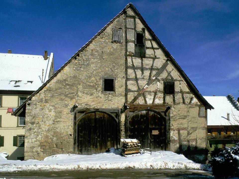 So sah die Schür vor der Runderneuerung durch den Schwarzwaldverein aus.    Foto: Repro Binner-Schwarz