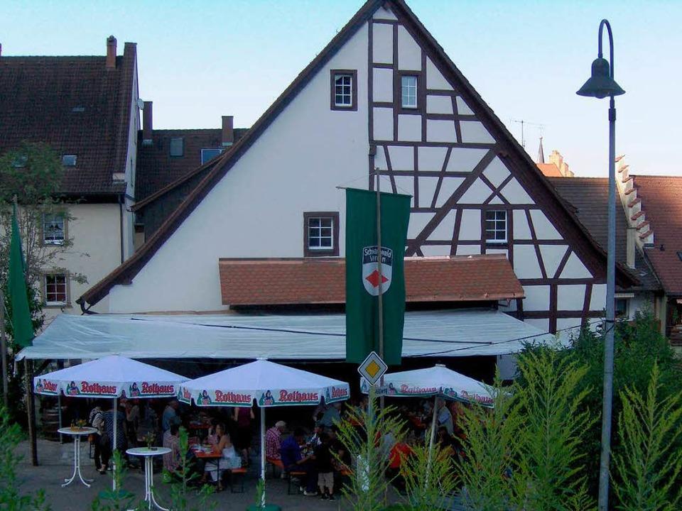 Die Schür am Stadtgraben ist seit 1995...igen Orte des Stühlinger Kulturlebens.    Foto: Binner-Schwarz
