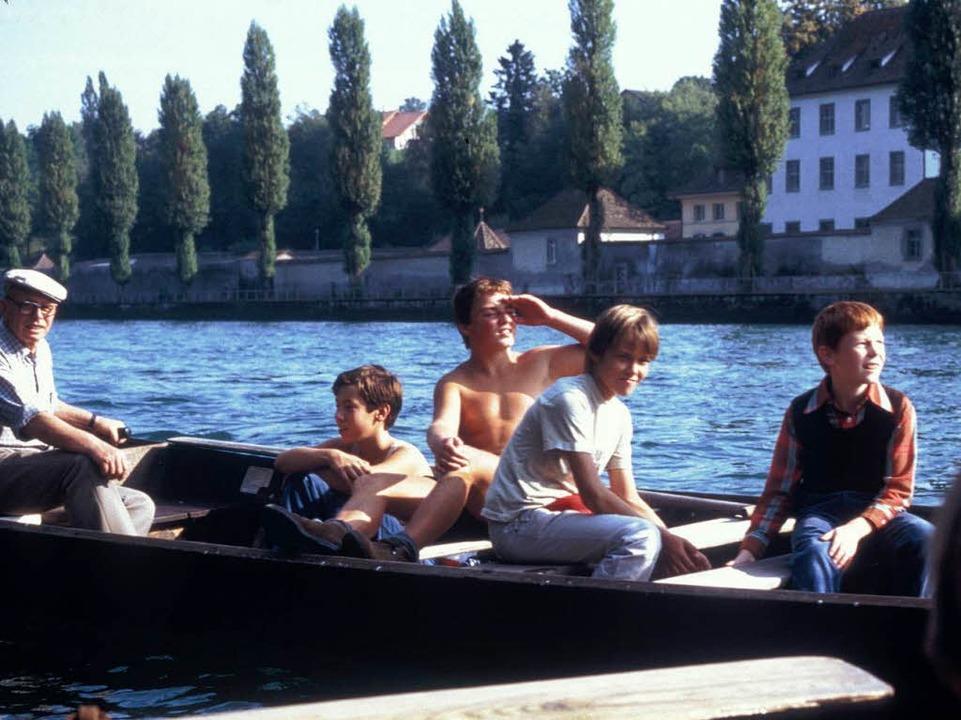 Kurt Stamm war der erste stellvertrete...r Fahrten auf dem Rhein zur Verfügung.  | Foto: repro Binner-Schwarz
