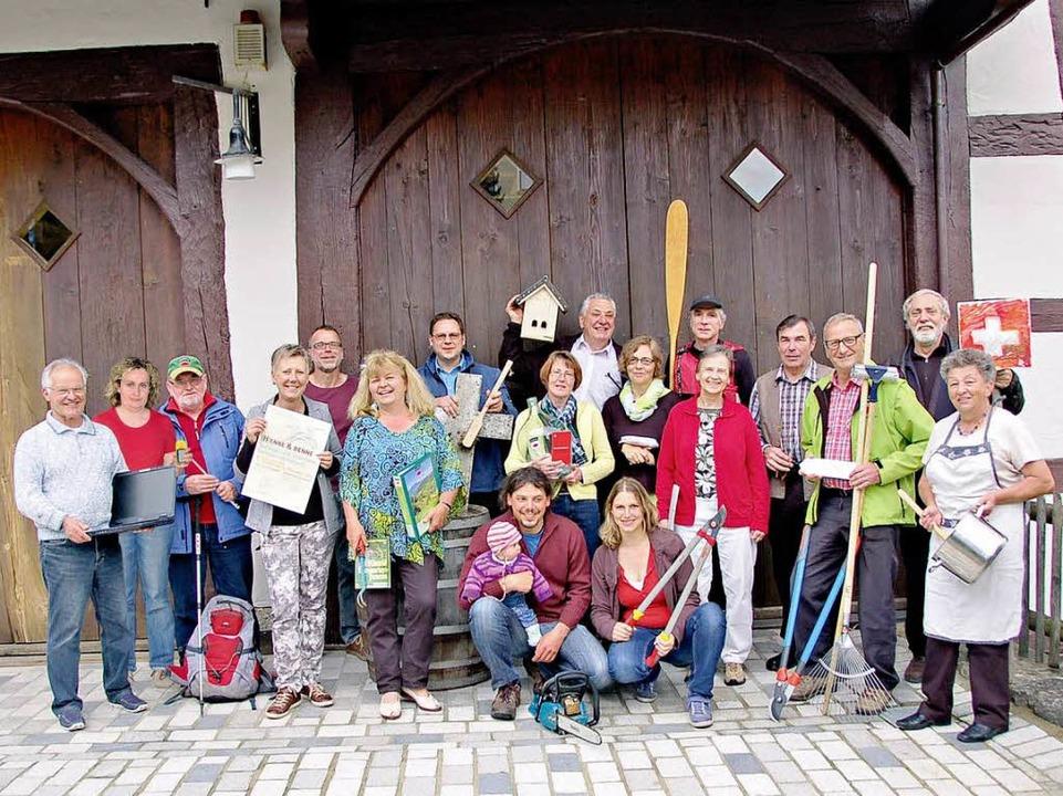 """Das Vorstandsteam des Schwarzwaldverei...125 Jahre Schwarzwaldverein"""" ein.    Foto: SWV"""