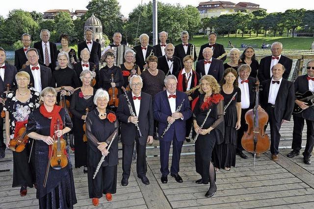 Freiburger Senioren-Salon-Orchester: Lebhafte Mischung mit viel Pep