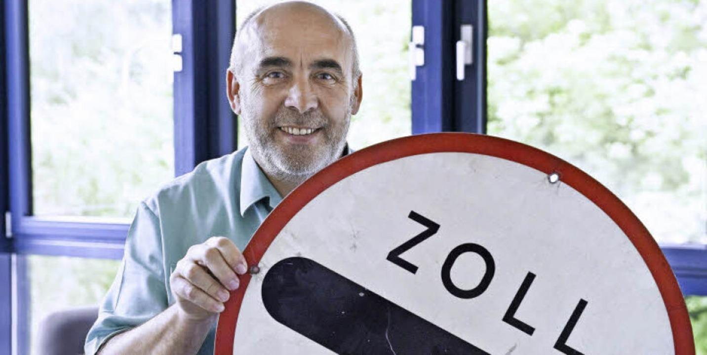 Peter Mutschler ist in Sachen Grenzkontrollen ein alter Hase.   | Foto: Daniel Schoenen