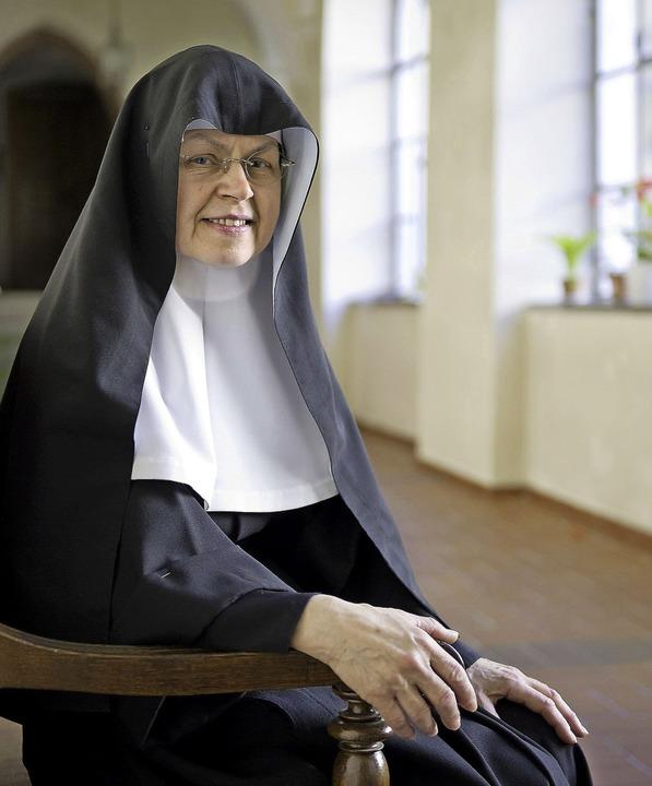 In der Ruhe liegt die Kraft: Mutter Ma...gang des Klosters Unserer Lieben Frau     Foto: Daniel  Schoenen