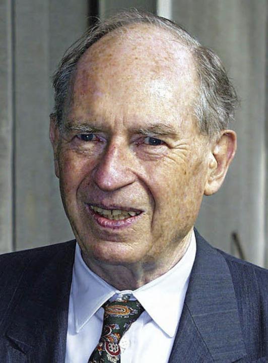 Herausragender Unternehmer: Dr. Heinz Zahoransky.   | Foto: Maier