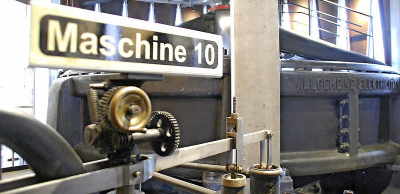 Mehr als 115 Jahre hat die älteste Turbine, Maschine 10, auf dem Buckel.  | Foto: Ralf Staub
