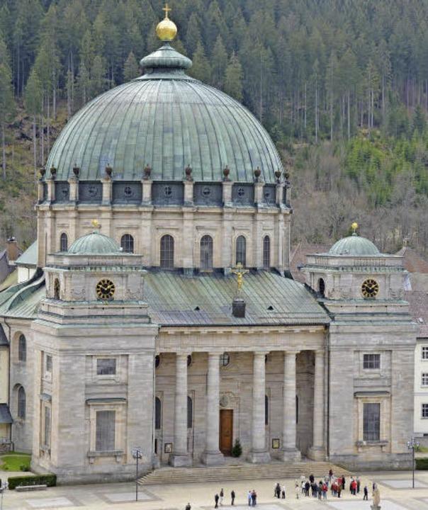 Der mächtige Blasius-Dom in St. Blasien.  | Foto: Sebastian Barthmes