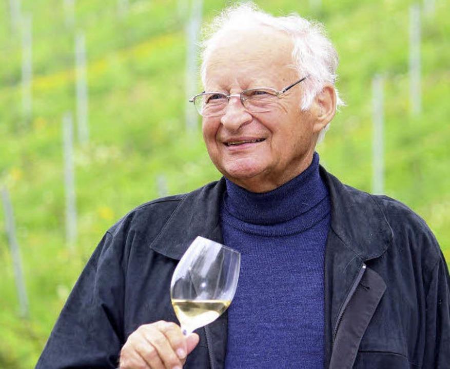 Weinexperte und Badener durch und durch: Ottmar Schilli.   | Foto: Saurer