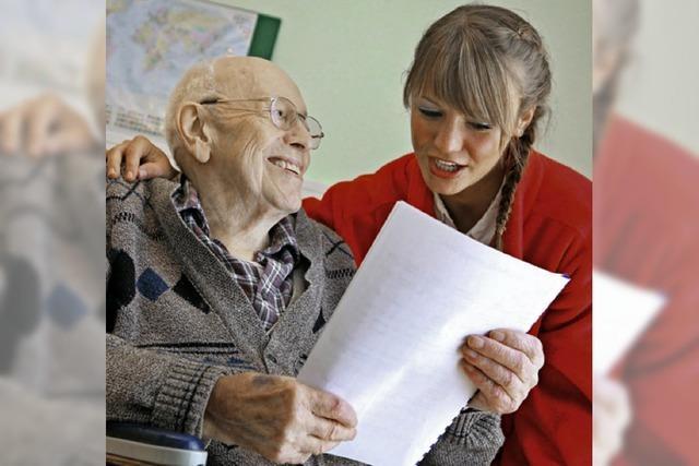 Senioren sollen mitteilen, wie sie altern möchten