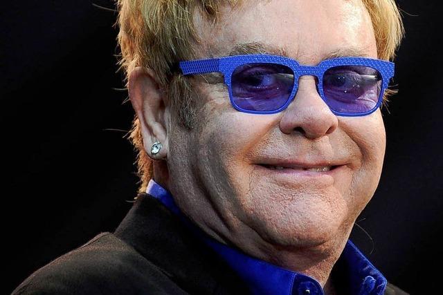 Konzert von Elton John in Lörrach verschiebt sich auf 2014