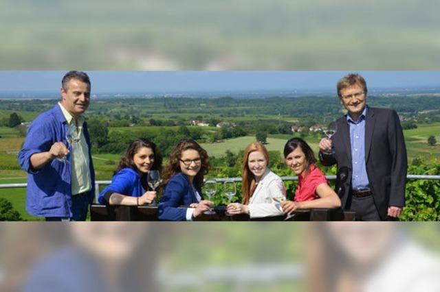 Deutsche Weinkönigin auf Baden-Tour