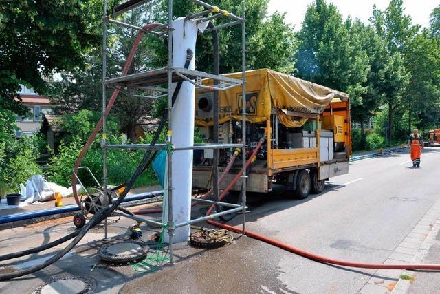 Kanalsanierung: Straßensperrung in Staufen überrascht Autofahrer