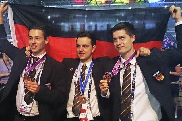 Junge Kaiserstühler holen Medaillen für Deutschland