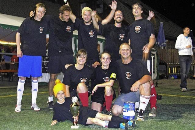 Team Neuglashütten holt den Pokal
