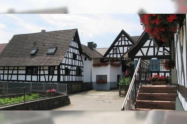 Den Dreiseitenhof in Vörstetten gilt es zu erhalten