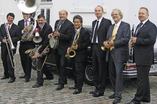 Sugar Foot Strompers spielen Sommernachtsfest im Jazztone