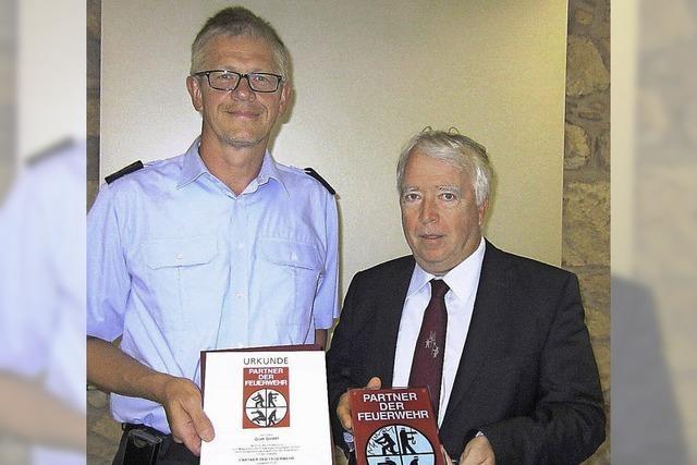 Weltmarktführer als Feuerwehrpartner