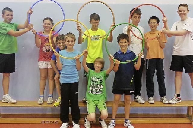 ESV-Sommerfest mit Olympiade