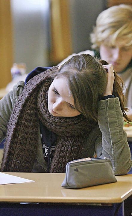 So eine Realschulprüfung kann viel Kopfzerbrechen bereiten.    | Foto: dpa