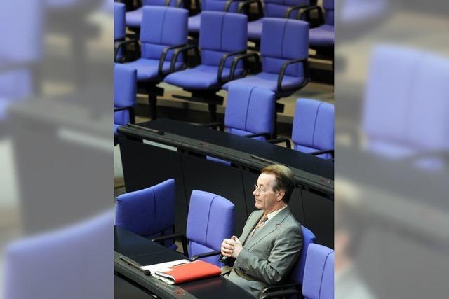 Franz Müntefering zieht sich aus der Politik zurück