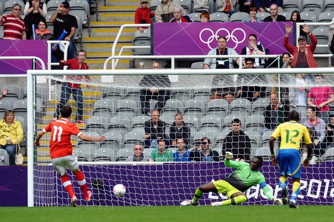 Olympische Spiele 2012 in London: Admi...gegen Südkorea und Mexiko war Schluss.  | Foto: PAUL ELLIS