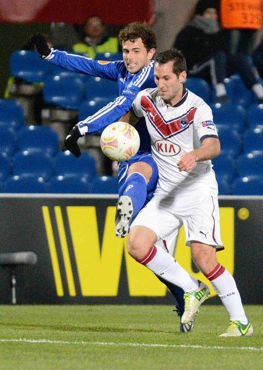Erfahrung in der Europa League: Admir ...o Kiew gegen Bordeaux im Februar 2013.  | Foto: Caroline Blumberg