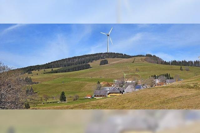 Votum für oder gegen Wind
